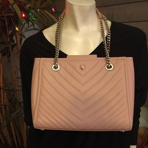 Kate Spade Quilted Leather Amelia Shoulder Bag